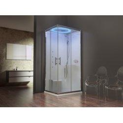 Cabine de douche rectangulaire EON Hammam - Plusieurs versions