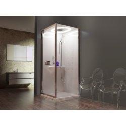 Cabine de douche carrée EON GF Hammam - Plusieurs versions