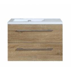 Meuble simple vasque 80cm Jupiter 2.0 Bois Clair