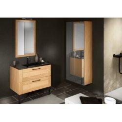 Meuble simple vasque COSY + Plaza - Plusieurs dimensions
