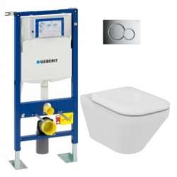 Pack WC Geberit UP320 + Cuvette AquaBlade TONIC II + Sigma Chromé Brillant