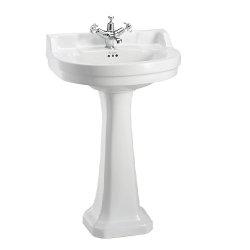 Vasque ronde et colonne standard Edouardien BURLINGTON