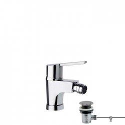Mitigeur bidet Economie d'eau avec vidage laiton - 550302 VA(1167)