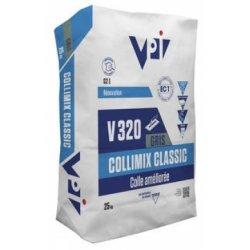 Mortier-Colle Amelioré COLLIMIX CLASSIC Gris - Sac 25kg - VPI