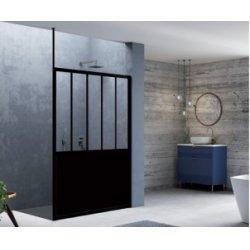 Fixation plafond de 250 cm pour Paroi LOFT Noir Mat - JACUZZI*