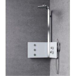Colonne de douche SINT Hydromassante Mécanique - Blanc