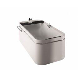 Baignoire Hydro Air DIVINA F Blanc Doux - Sans robinetterie