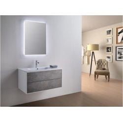 Meuble simple vasque PARIGI 91 cm - Différents coloris