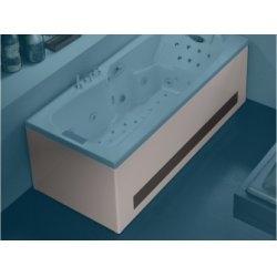 Tablier Façade en Bi-matière (Verre Ardoise) baignoires Kinédo - L180 cm