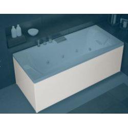 Tablier Façade en Biocryl blanc baignoires Kinedo - L180 cm