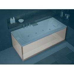 Tablier Façade en Verre Blanc baignoires Kinedo - L180 cm