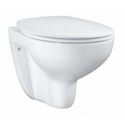 Cuvette WC suspendue GROHE Bau Ceramic sans bride