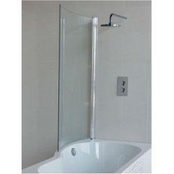 baignoire douche ecoround cleargreen 150 cm version gauche. Black Bedroom Furniture Sets. Home Design Ideas