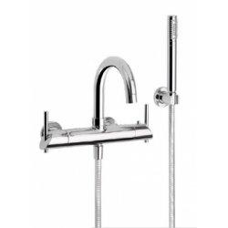 Mitigeur thermostatique bain/douche mural MINOE Chromé - 49.714 CH