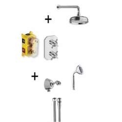 Pack encastré thermostatique CHAMBORD rétro - XCH8520