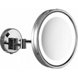 Miroir mural orientable grossissant avec Eclairage LED - 2118 Vincent