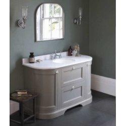 Meuble de salle de bain traditionnel simple vasque Olive