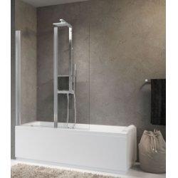 Pare-baignoire 2 portes pivotantes AURORA 2 - Différents Verres