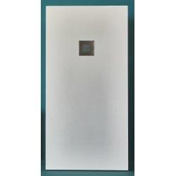 Receveur BASALTO Blanc 90x90cm*