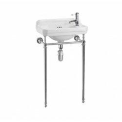 Lave-mains + console Edouardien BURLINGTON - 1 trou de robinetterie