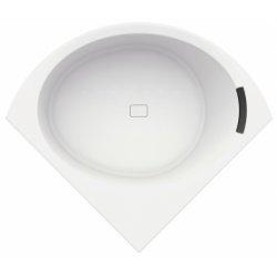 Baignoire d'angle DIVINA C 140X140 cm Blanc brillant
