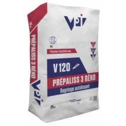 Enduit de ragréage PREPALISS 3 RENO V120 - sac 25 kg - VPI