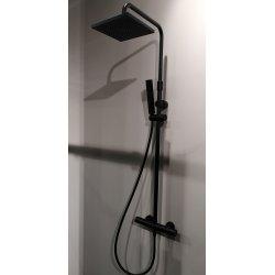 Colonne de douche avec douche de tête EASY 2 Noir