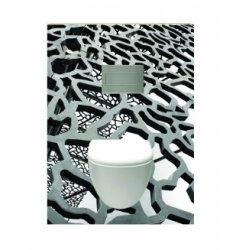 Habillage décoratif Bâti WC DECOFAST Artiste Mucem