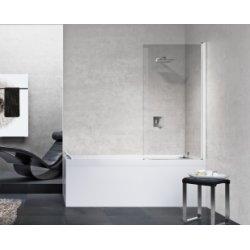 Pare-baignoire pivotant YOUNG 1V 70 cm- Transparent - Silver
