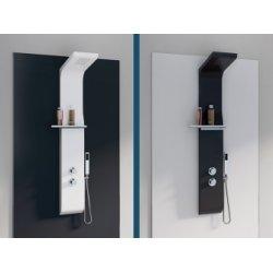 Colonne de douche design AQUAMOON en ABS Blanc