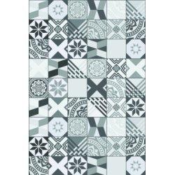 Panneau mural décoratif DECOFAST Polygon Gris - Crédence 1200x400 mm