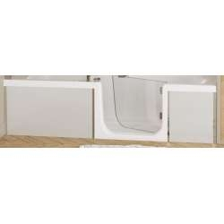 Tablier de façade Full Verre Blanc - 160 cm