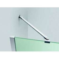 Barre de fixation modulable L150 cm Chromé - Novellini