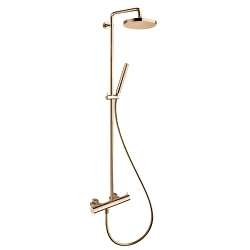 Colonne de douche thermostatique TRIVERDE Or Rose - ONDYNA