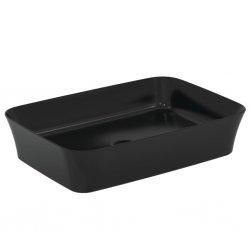 Vasque rectangulaire à poser IPALYSS Noir Mat - 55x38 cm