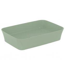 Vasque rectangulaire à poser IPALYSS Sauge - 55x38 cm