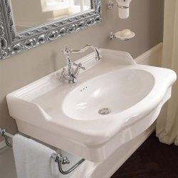 Vasque suspendue Rétro CASTELLANA Blanc - 70 cm