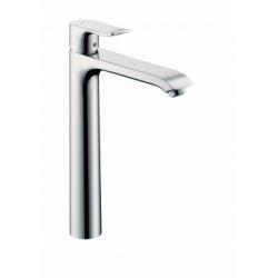 Mitigeur de lavabo surélevé METRIS 260 avec vidage tirette*