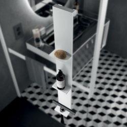 Étagère FRAME pour paroi de douche - Blanc Mat