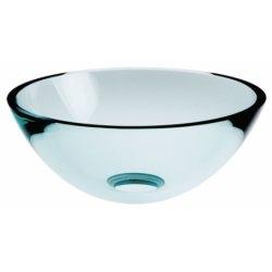 Vasque en verre à poser ou à suspendre Ø 44 cm