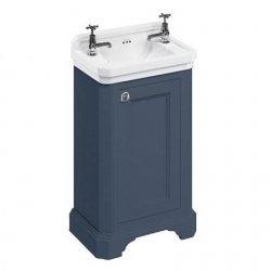 Meuble sous vasque lave-mains Edouardien Bleu