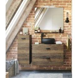 Meuble de salle de bain SWING Chêne Vintage