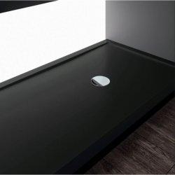 Receveur Olympic Plus Noir - Hauteur 4.5 cm - 120x70 cm