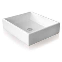 Vasque céramique à poser TANK 40 WTA4009