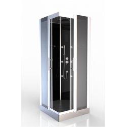Cabine de douche carré Premium Square 90cm Aurlane**