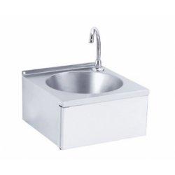 Lave-mains cuve ronde Inox