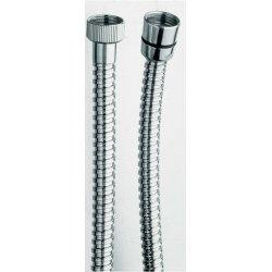 Flexible laiton double agrafage 150 cm Chromé - DA21551