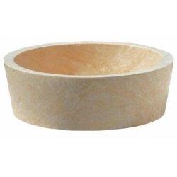 Vasque à poser en pierre ronde diamètre 42cm UR2005