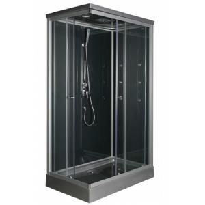 Cabine de douche rectangulaire 120x80cm Solea