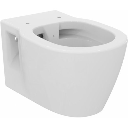 Pack WC Bâti-support Evo + Cuvette sans bride Connect + Plaque Blanche E817401 sans abattant